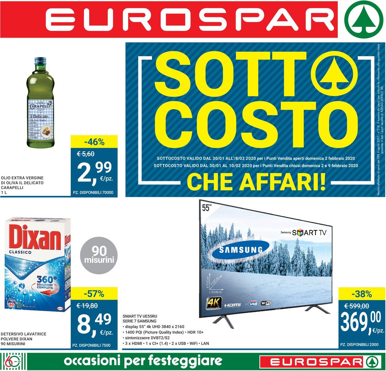 Volantino Interspar - Offerte 30/01-12/02/2020