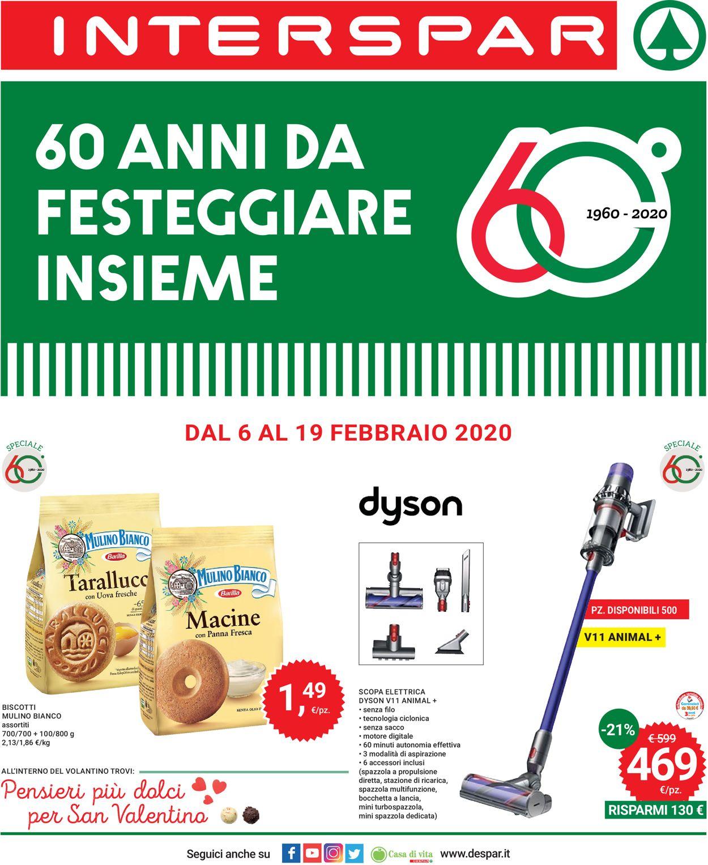 Volantino Interspar - Offerte 06/02-19/02/2020