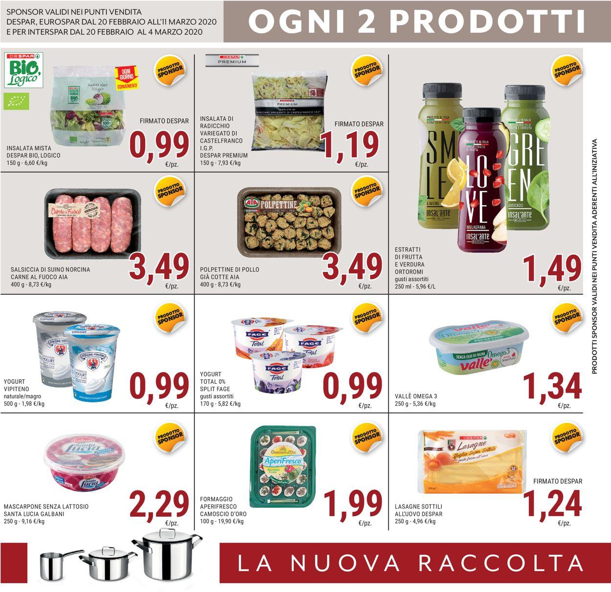 Volantino Interspar - Offerte 20/02-11/03/2020 (Pagina 4)