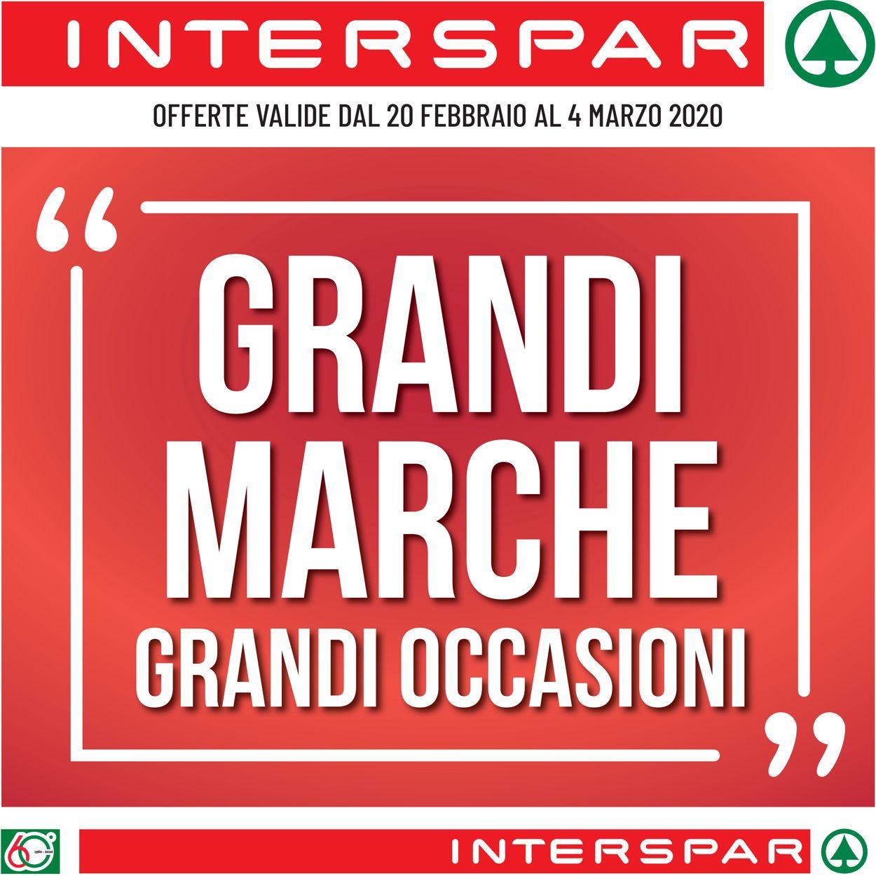 Volantino Interspar - Offerte 20/02-04/03/2020