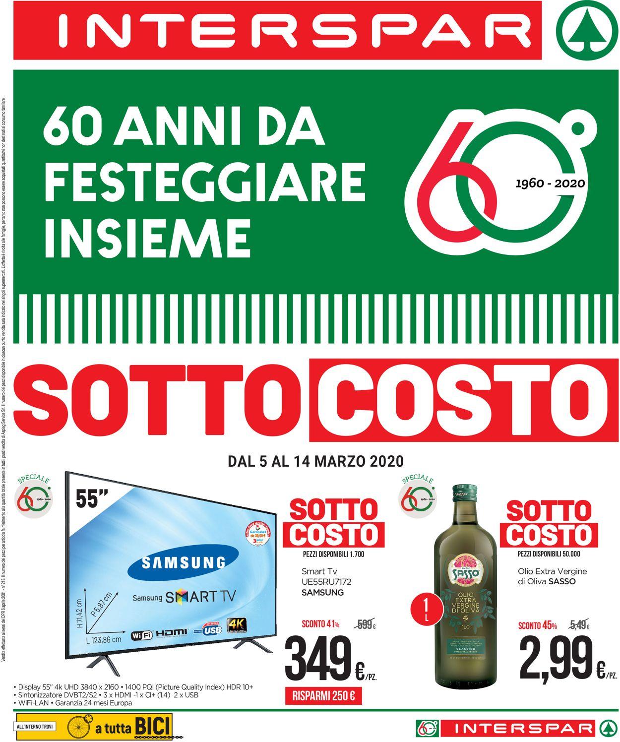 Volantino Interspar - Offerte 05/03-14/03/2020