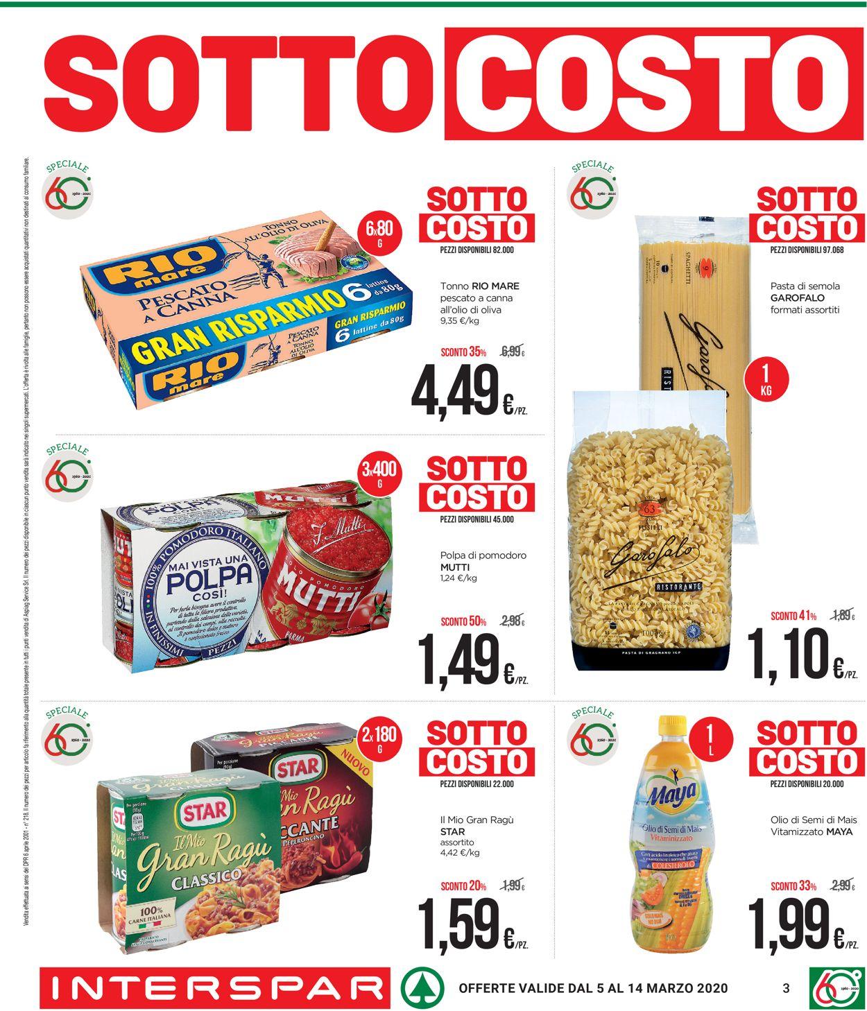 Volantino Interspar - Offerte 05/03-14/03/2020 (Pagina 3)