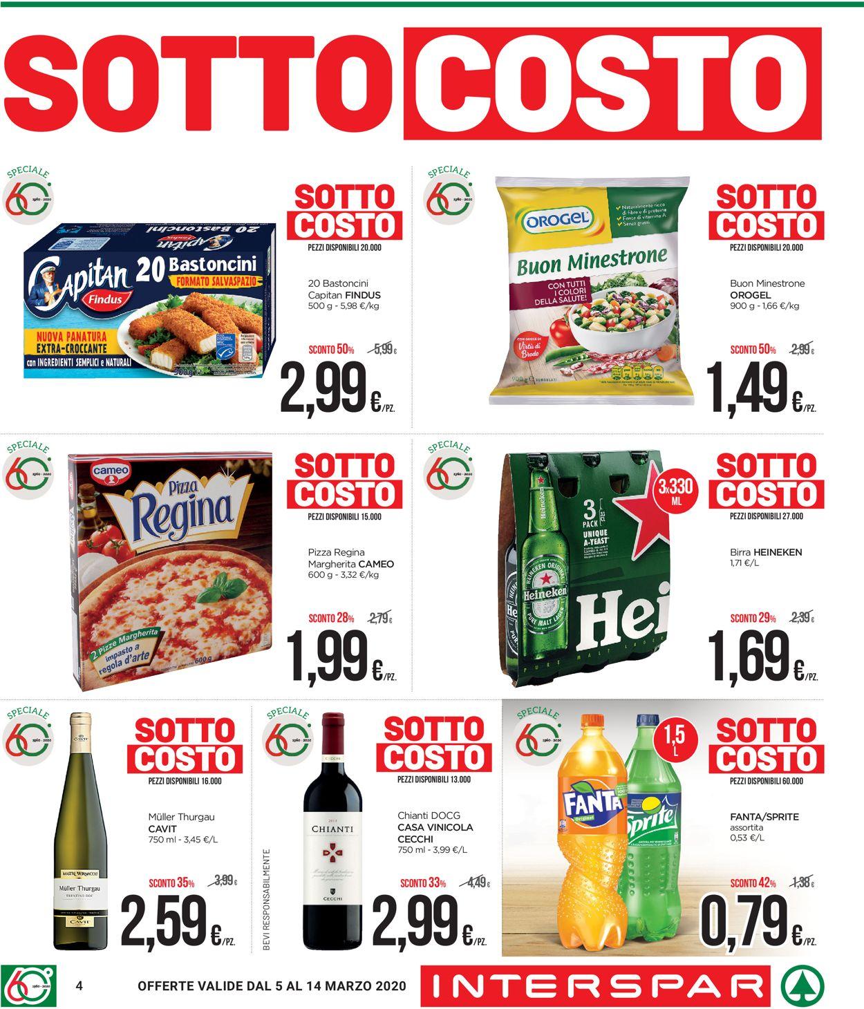 Volantino Interspar - Offerte 05/03-14/03/2020 (Pagina 4)