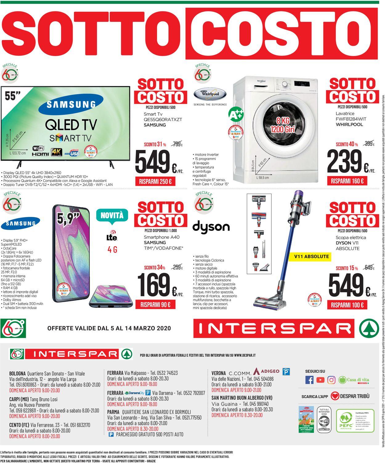 Volantino Interspar - Offerte 05/03-14/03/2020 (Pagina 40)