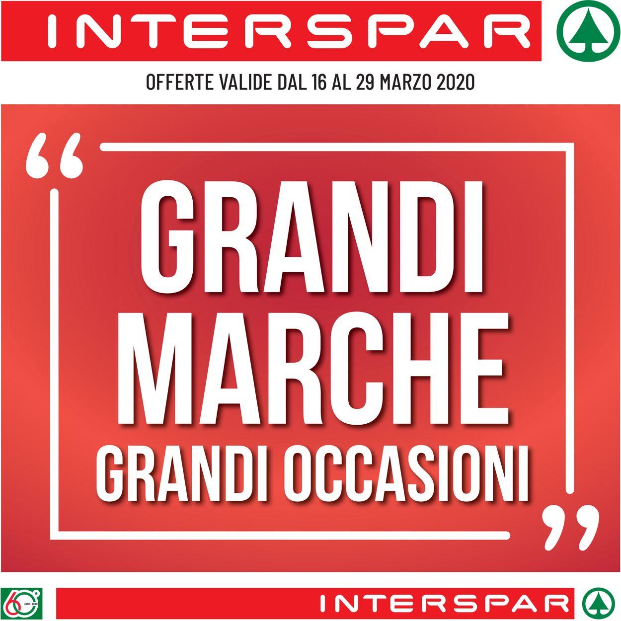 Volantino Interspar - Offerte 16/03-29/03/2020