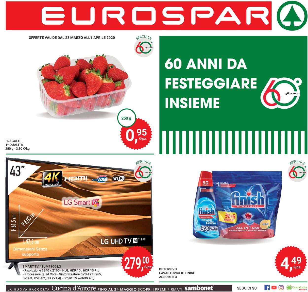 Volantino Interspar - Offerte 23/03-01/04/2020