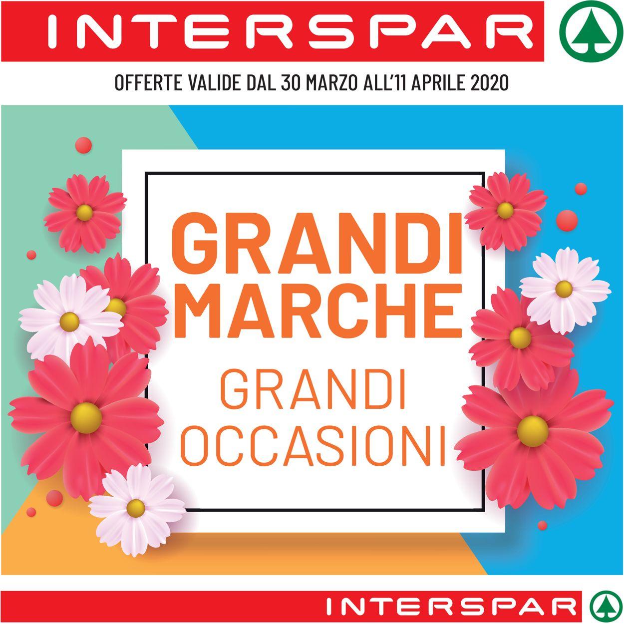 Volantino Interspar - Offerte 30/03-11/04/2020