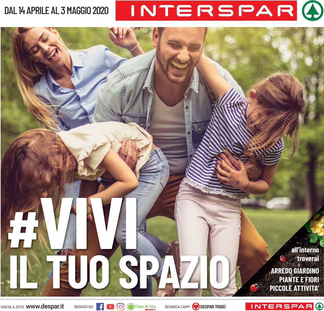 Volantino Interspar - Offerte 14/04-03/05/2020