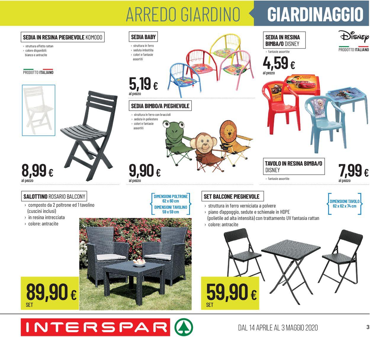 Volantino Interspar - Offerte 14/04-03/05/2020 (Pagina 3)