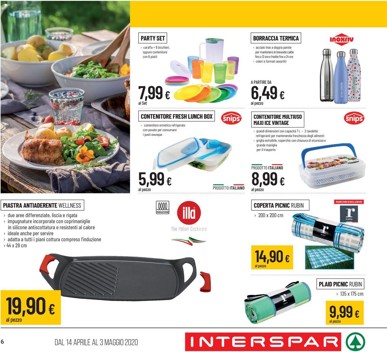 Volantino Interspar - Offerte 14/04-03/05/2020 (Pagina 6)