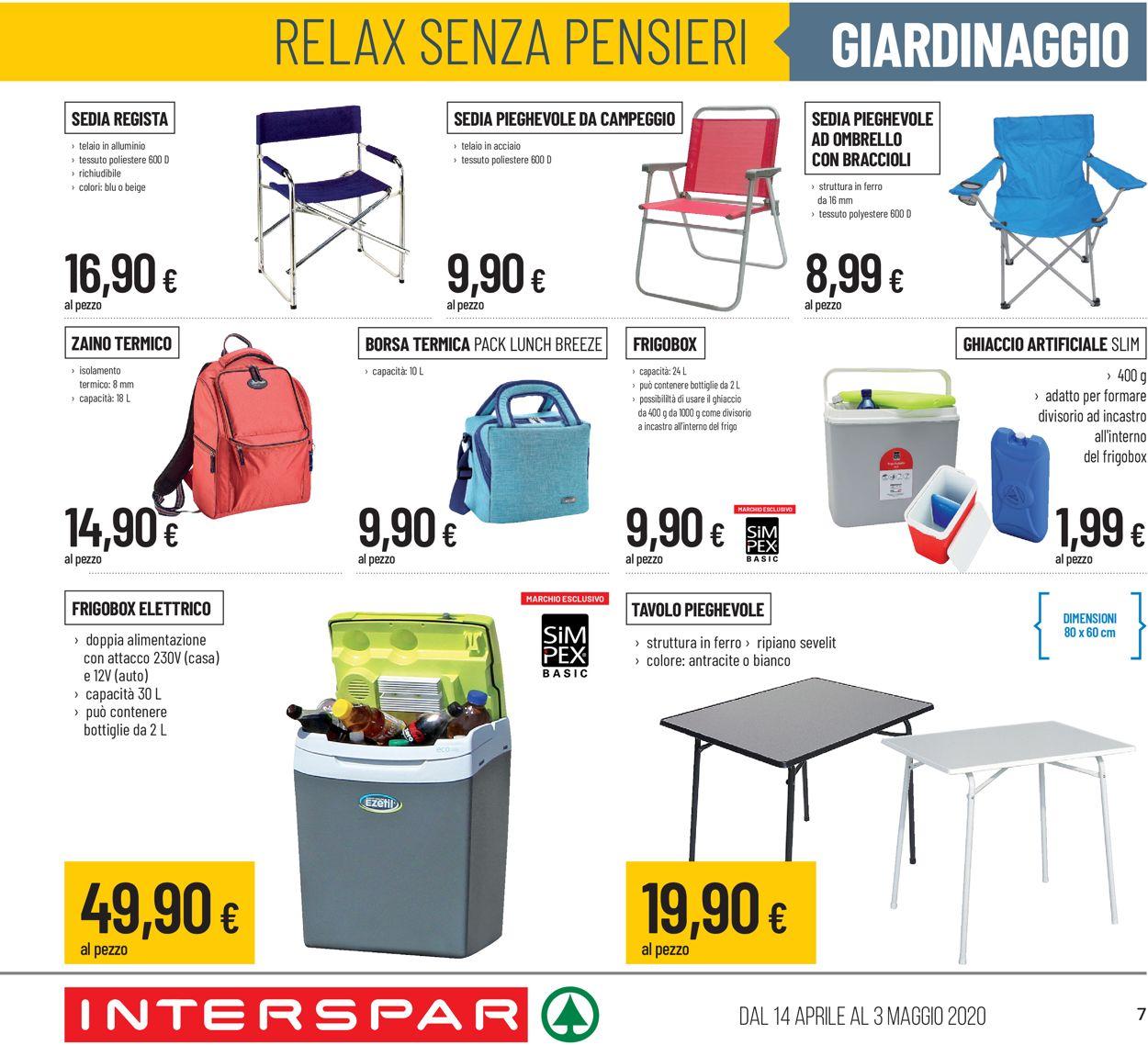 Volantino Interspar - Offerte 14/04-03/05/2020 (Pagina 7)