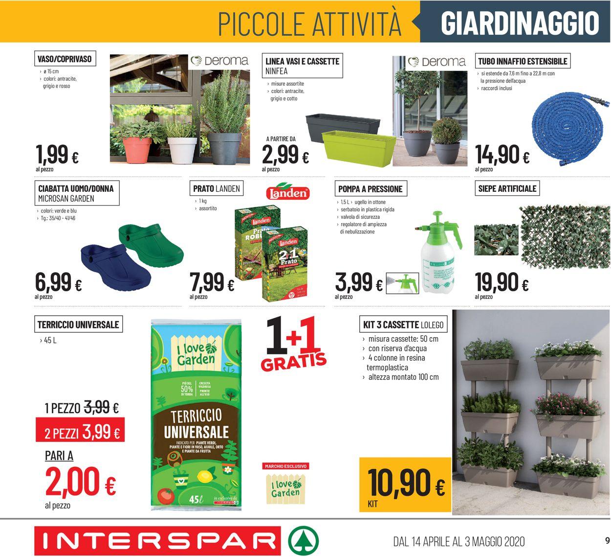 Volantino Interspar - Offerte 14/04-03/05/2020 (Pagina 9)