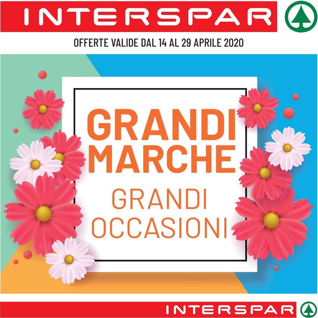 Volantino Interspar - Offerte 14/04-29/04/2020