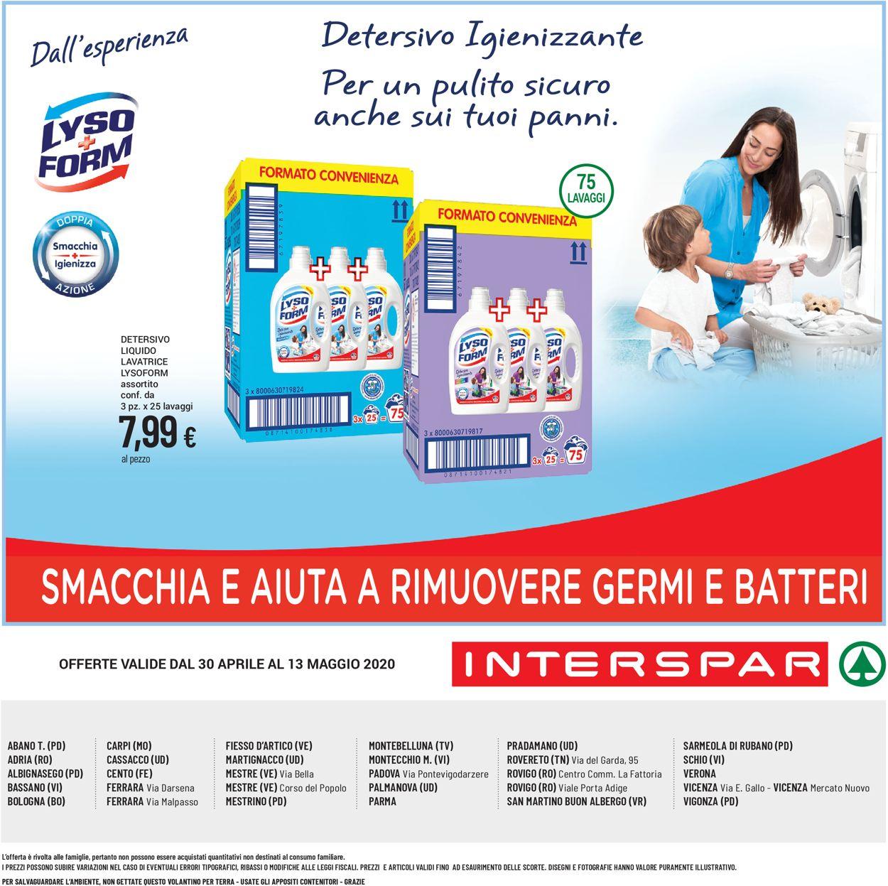 Volantino Interspar - Offerte 30/04-13/05/2020 (Pagina 8)