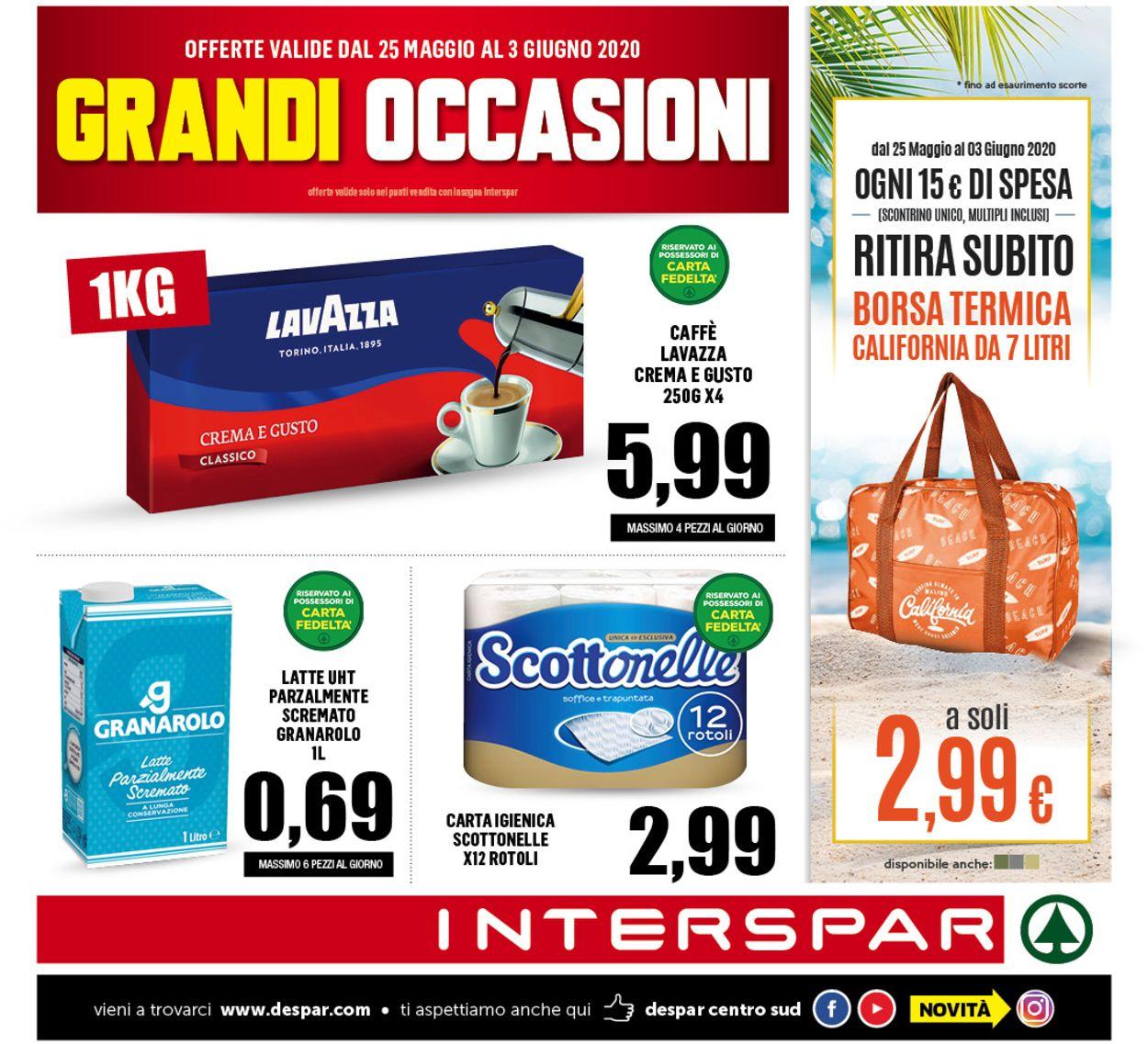 Volantino Interspar - Offerte 24/05-03/06/2020