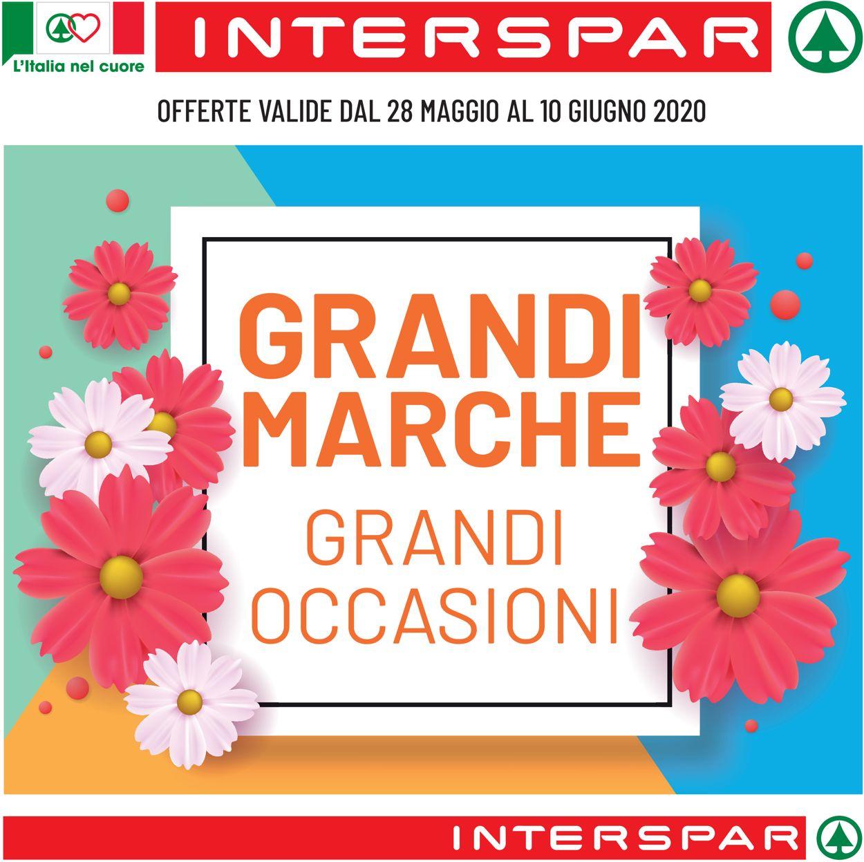 Volantino Interspar - Offerte 28/05-10/06/2020