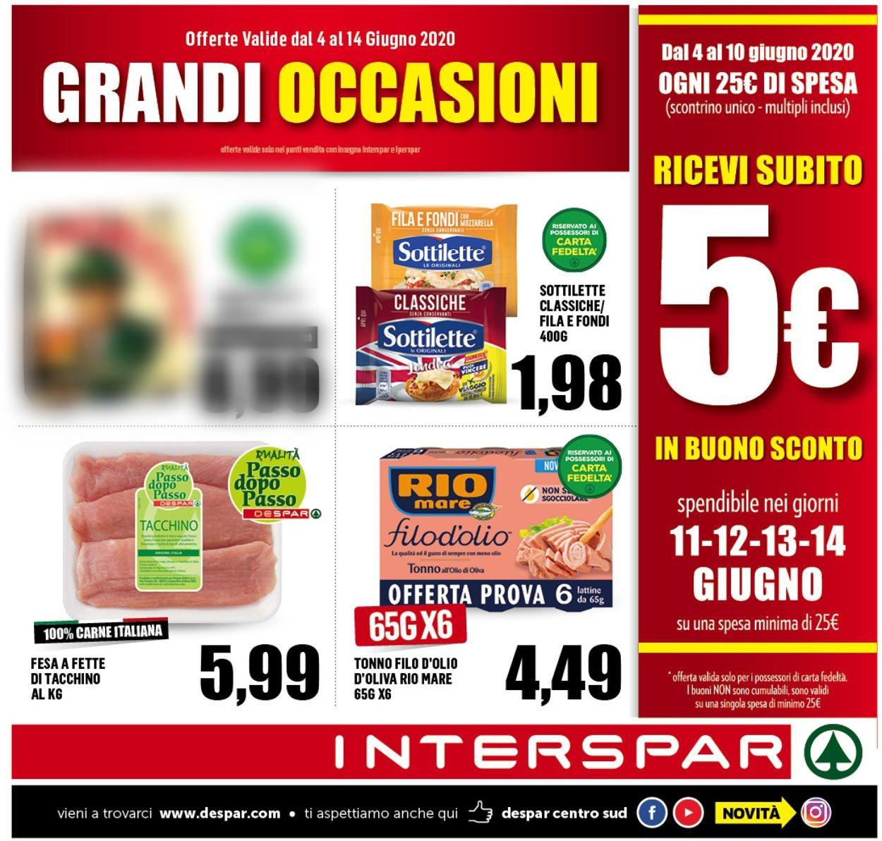 Volantino Interspar - Offerte 03/06-14/06/2020
