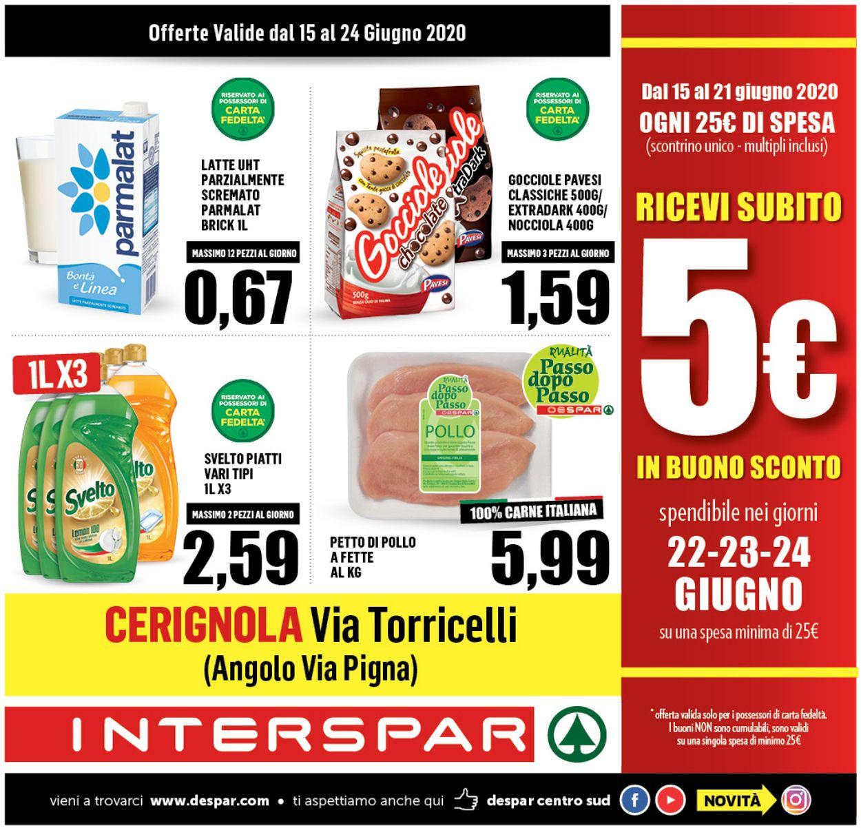 Volantino Interspar - Offerte 14/06-24/06/2020