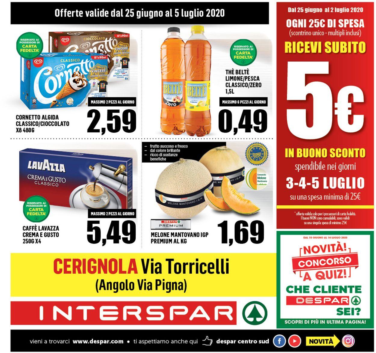 Volantino Interspar - Offerte 24/06-05/07/2020