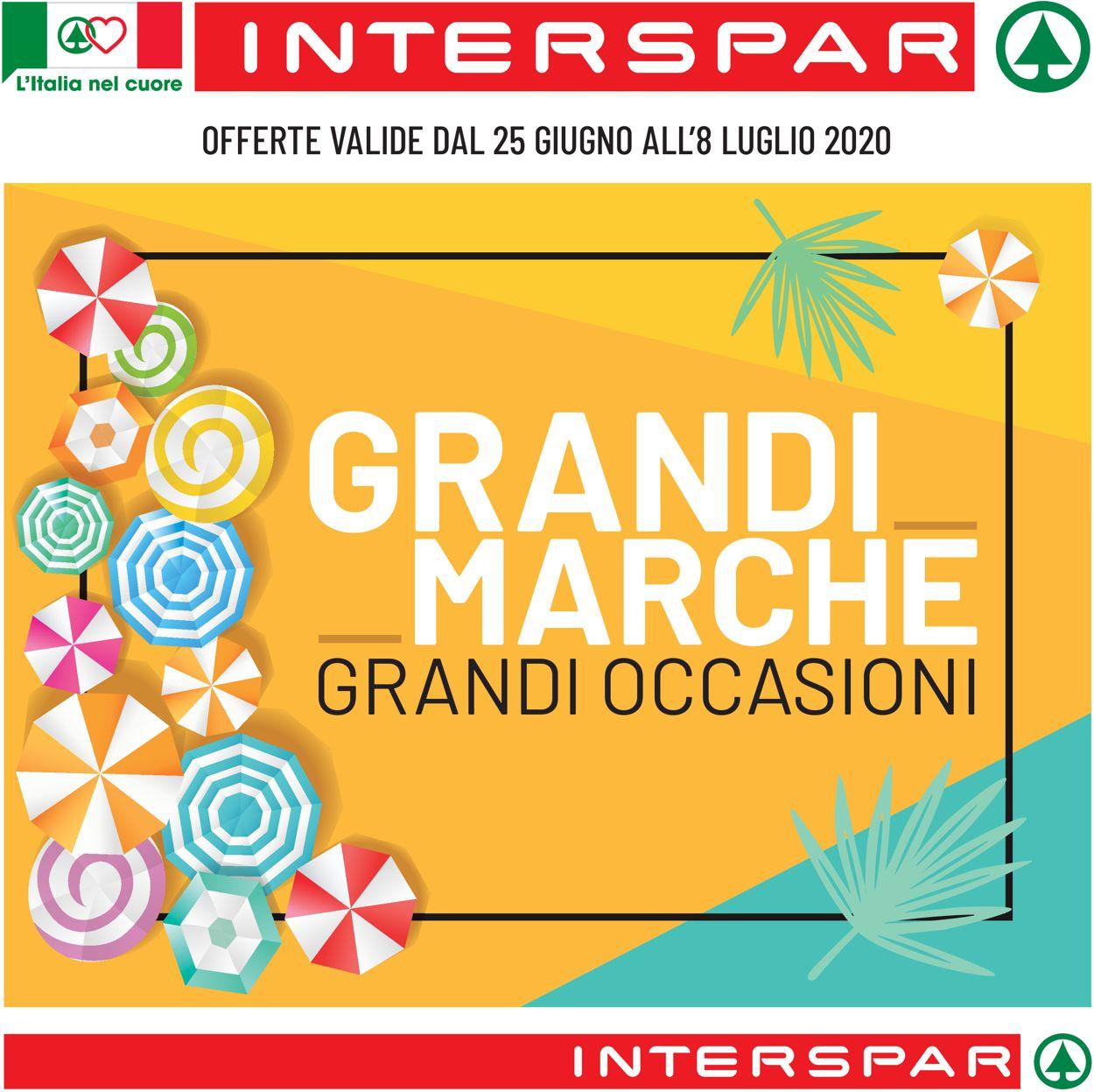 Volantino Interspar - Offerte 25/06-08/07/2020