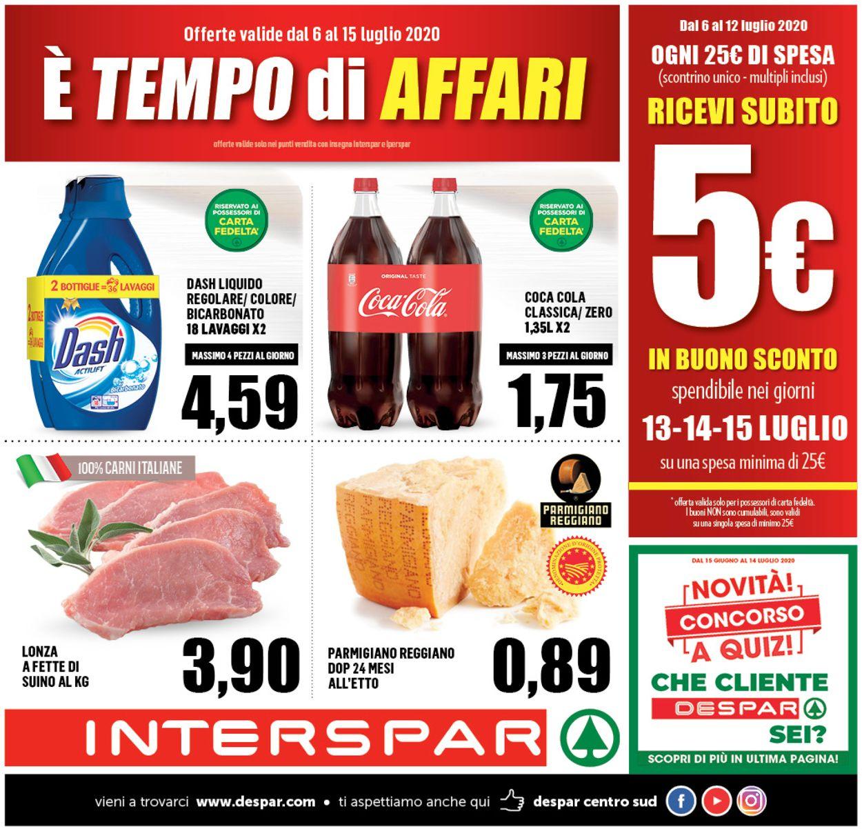 Volantino Interspar - Offerte 06/07-15/07/2020