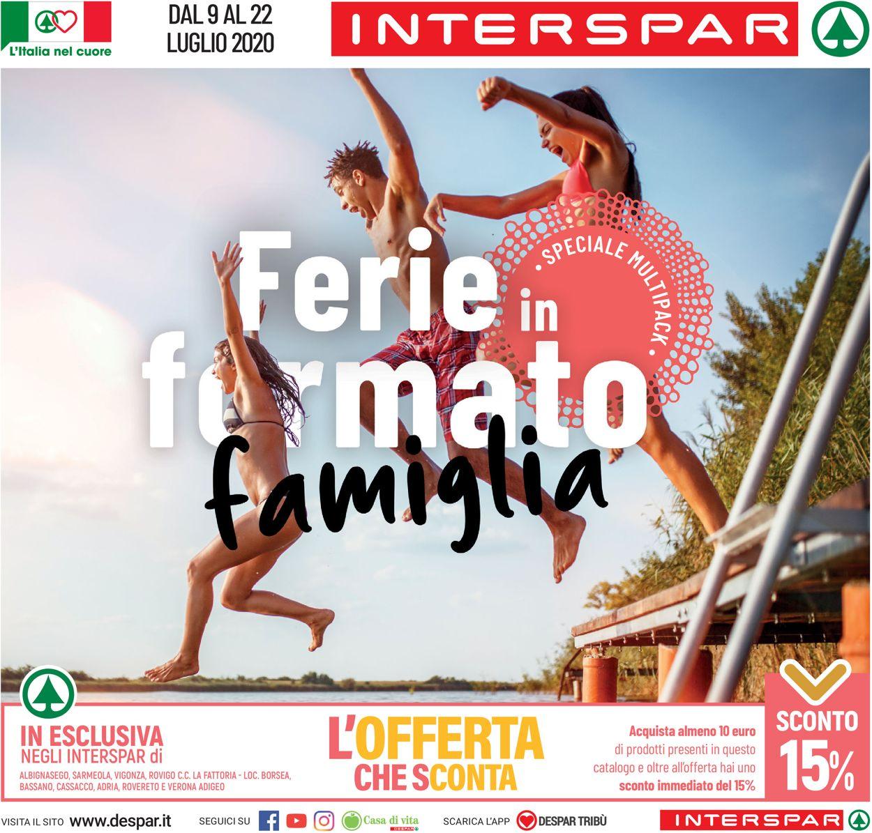 Volantino Interspar - Offerte 09/07-22/07/2020