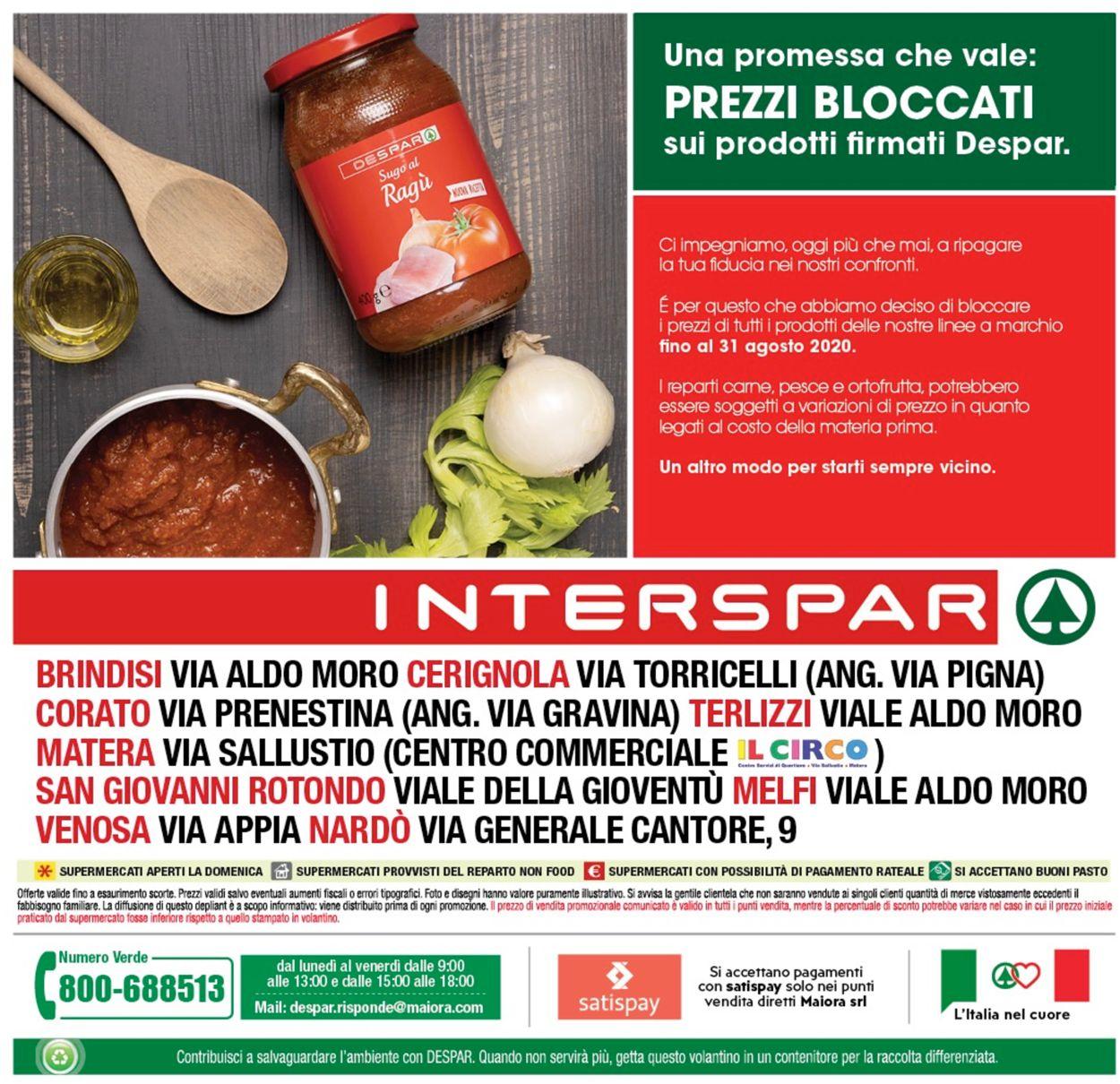 Volantino Interspar - Offerte 27/07-02/08/2020 (Pagina 24)