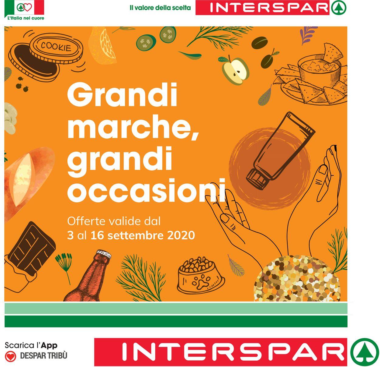 Volantino Interspar - Offerte 03/09-16/09/2020