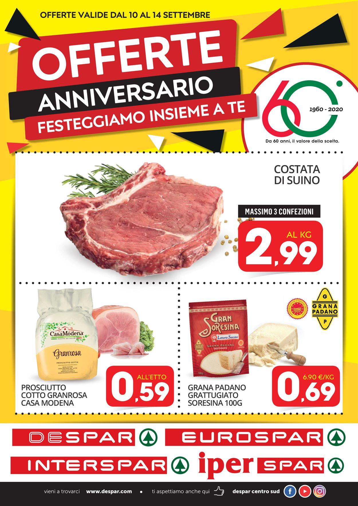 Volantino Interspar - Offerte 09/09-14/09/2020