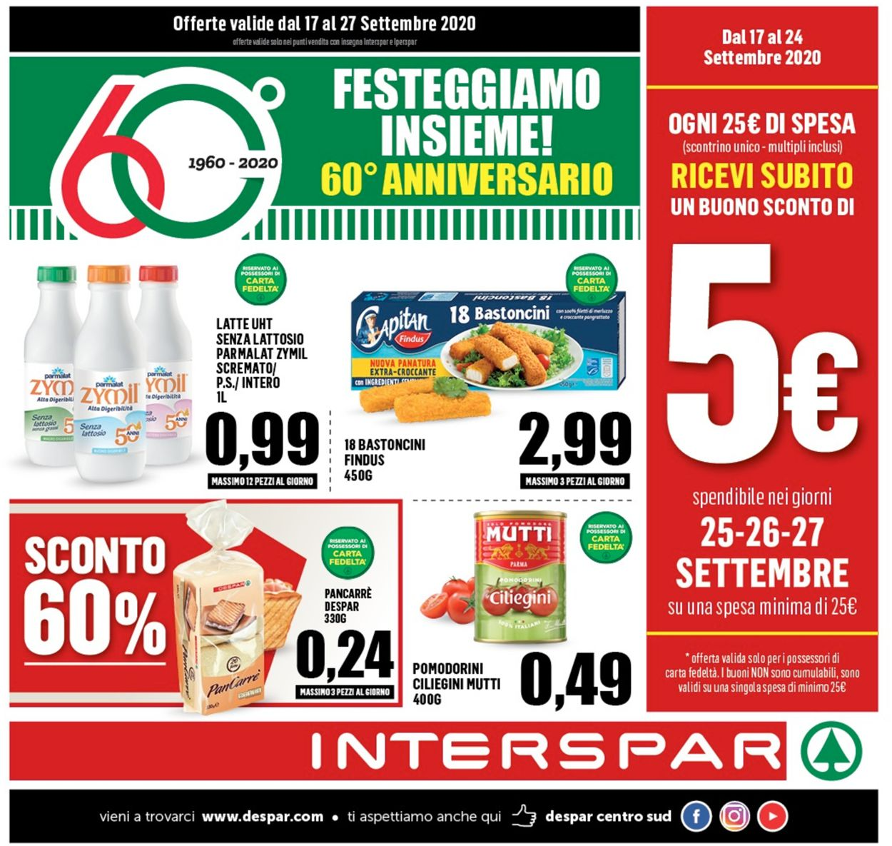 Volantino Interspar - Offerte 17/09-27/09/2020