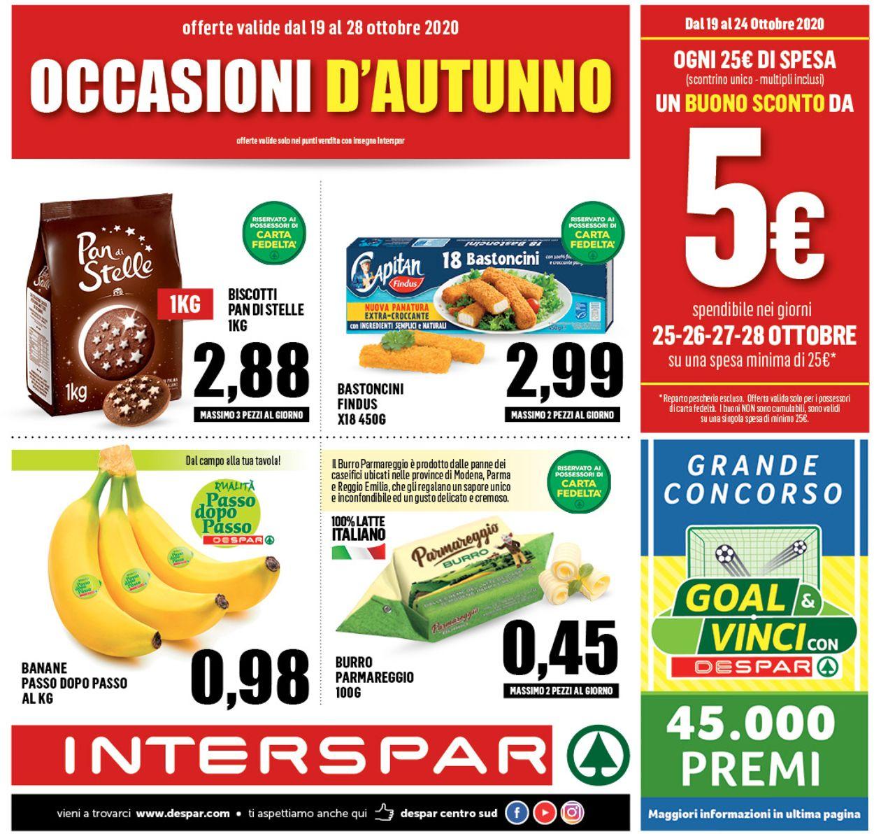 Volantino Interspar - Offerte 19/10-28/10/2020