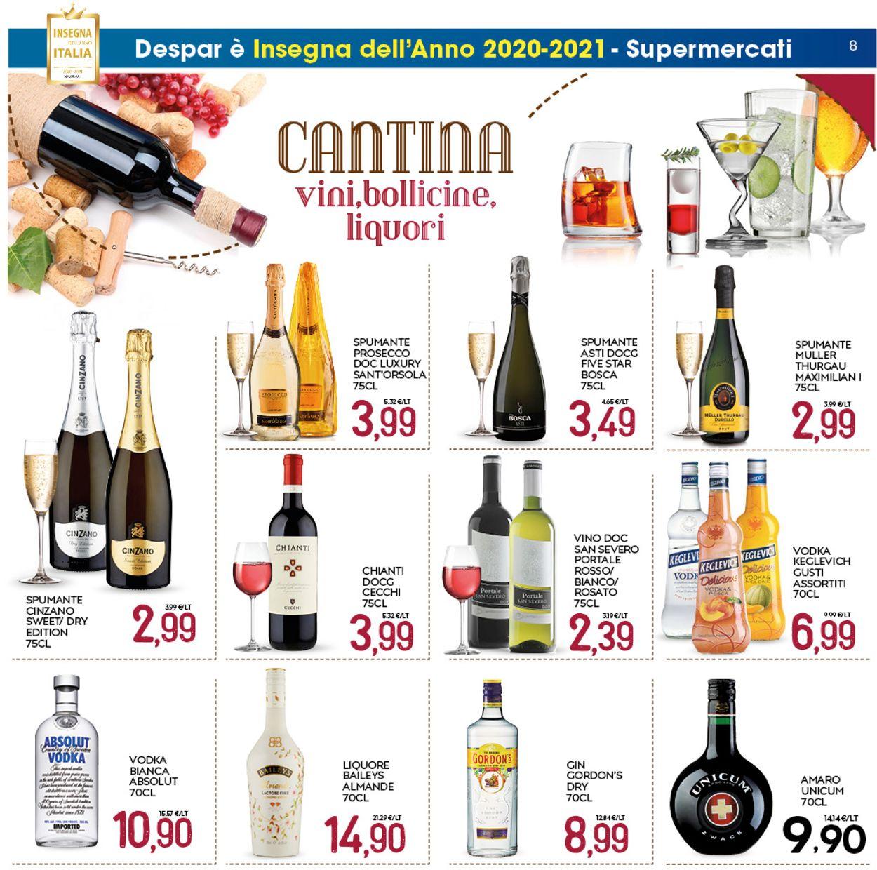 Volantino Interspar -  Capodanno 2021 - Offerte 28/12-06/01/2021 (Pagina 8)