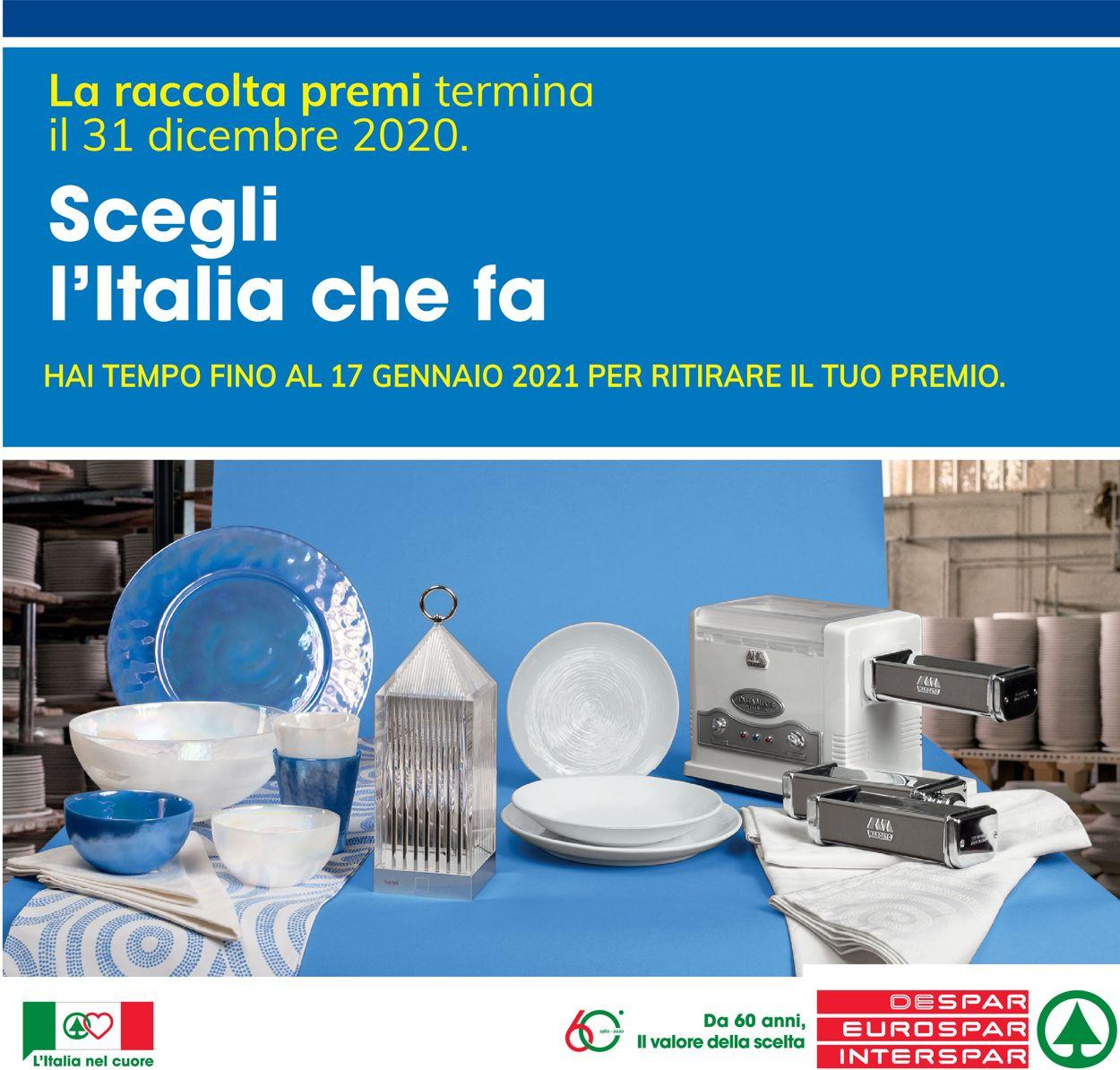 Volantino Interspar - Natale 2020 - Offerte 17/12-31/12/2020