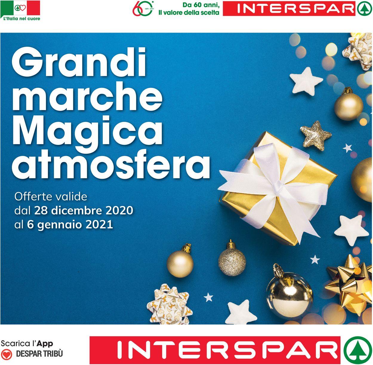 Volantino Interspar - Natale 2020 - Offerte 28/12-06/01/2021
