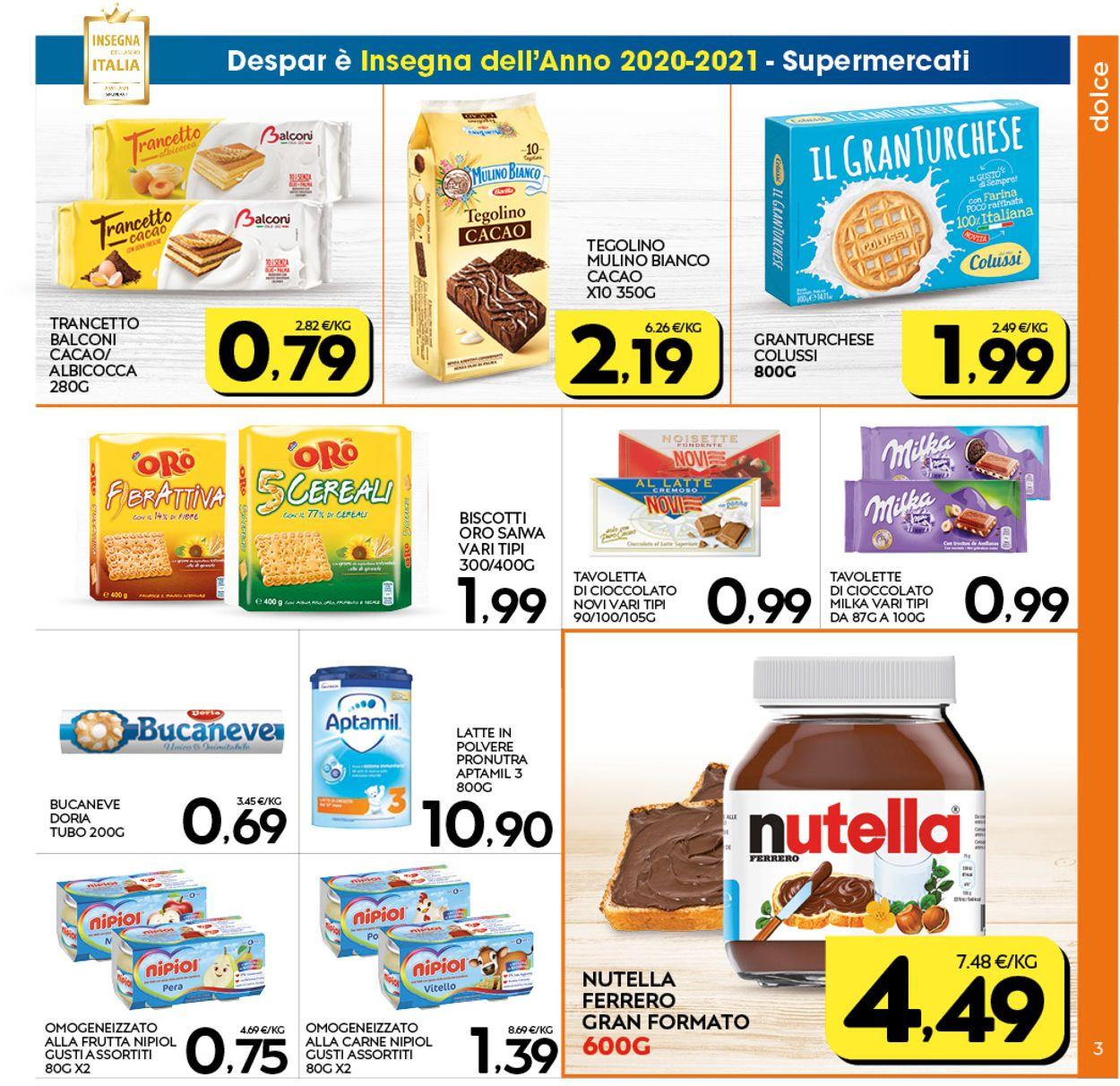 Volantino Interspar - Offerte 07/01-17/01/2021 (Pagina 3)