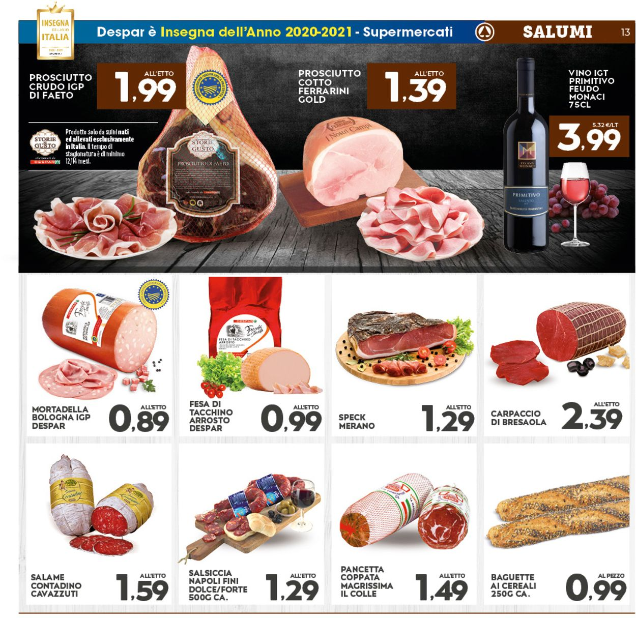 Volantino Interspar - Offerte 07/01-17/01/2021 (Pagina 13)