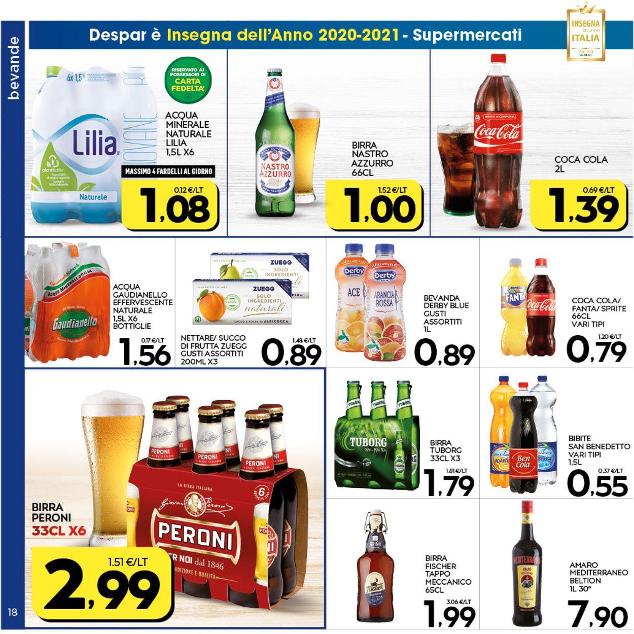 Volantino Interspar - Offerte 07/01-17/01/2021 (Pagina 18)