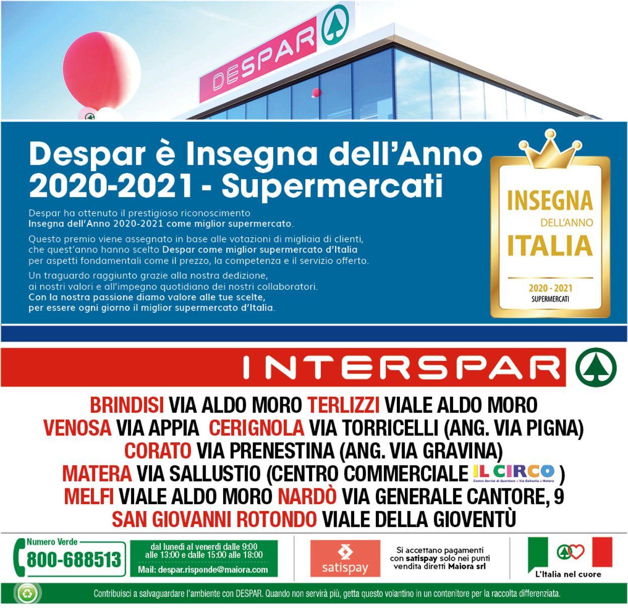 Volantino Interspar - Offerte 07/01-17/01/2021 (Pagina 24)
