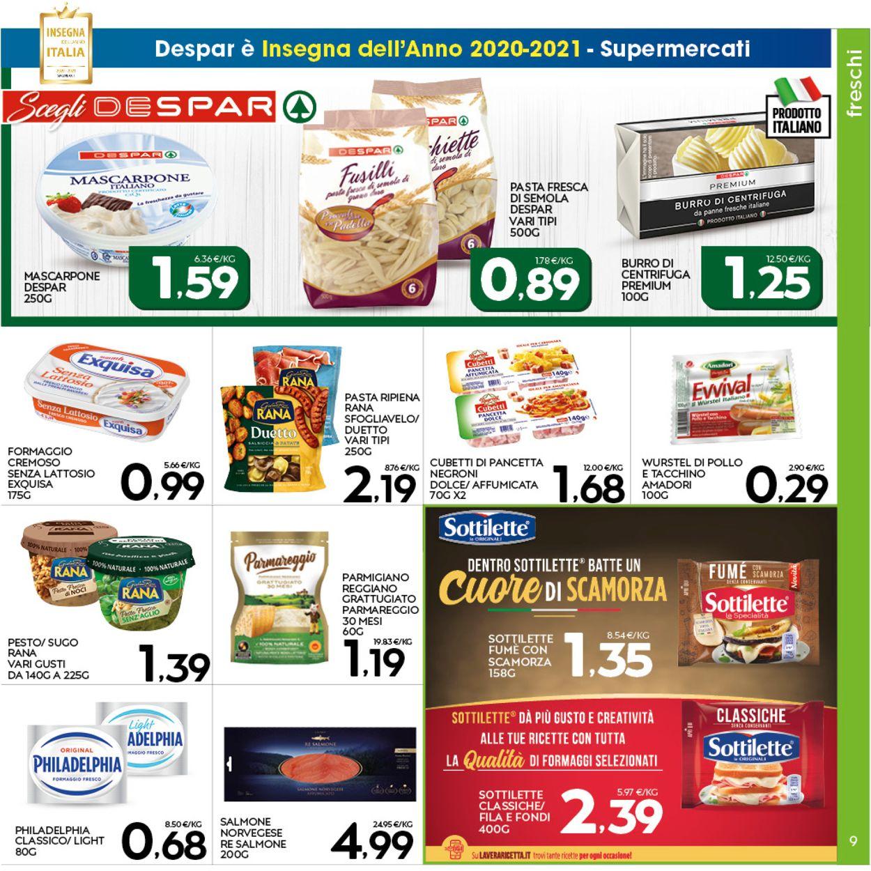 Volantino Interspar - Offerte 28/01-08/02/2021 (Pagina 9)