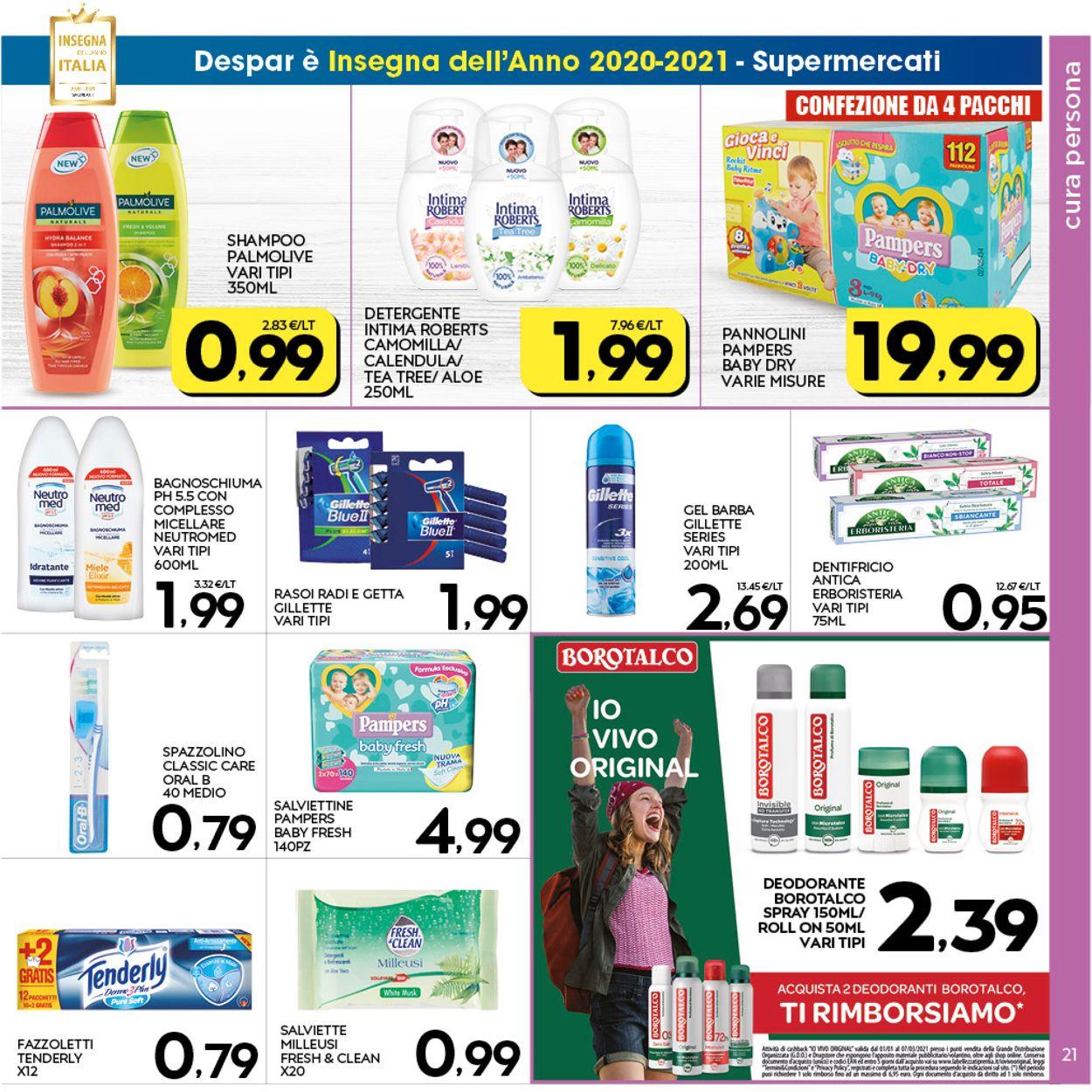 Volantino Interspar - Offerte 28/01-08/02/2021 (Pagina 21)