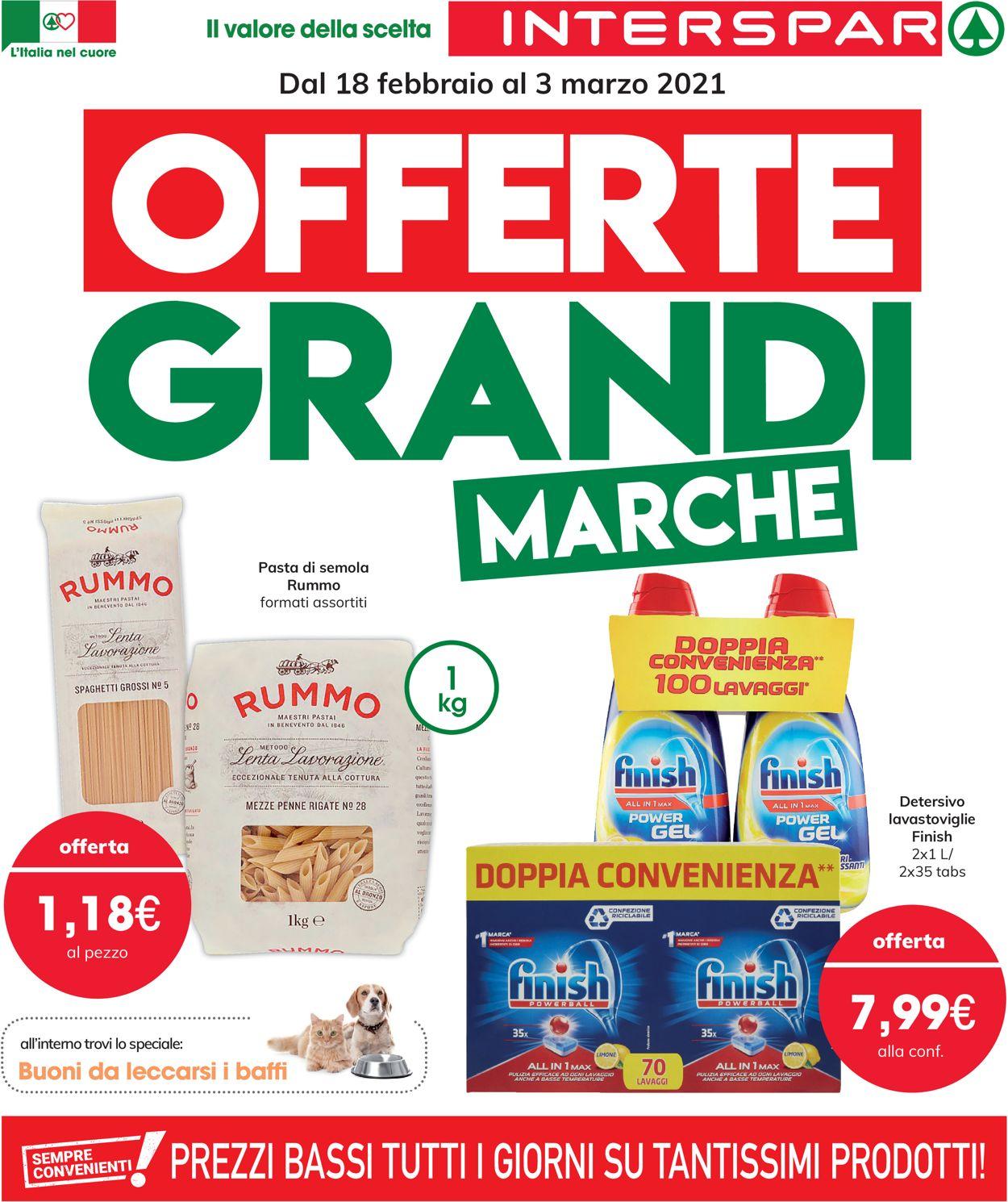 Volantino Interspar - Offerte 18/02-03/03/2021
