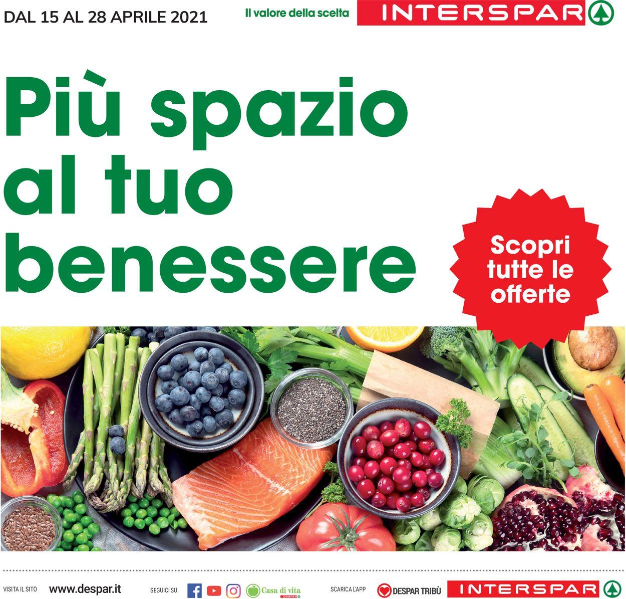 Volantino Interspar - Offerte 15/04-28/04/2021