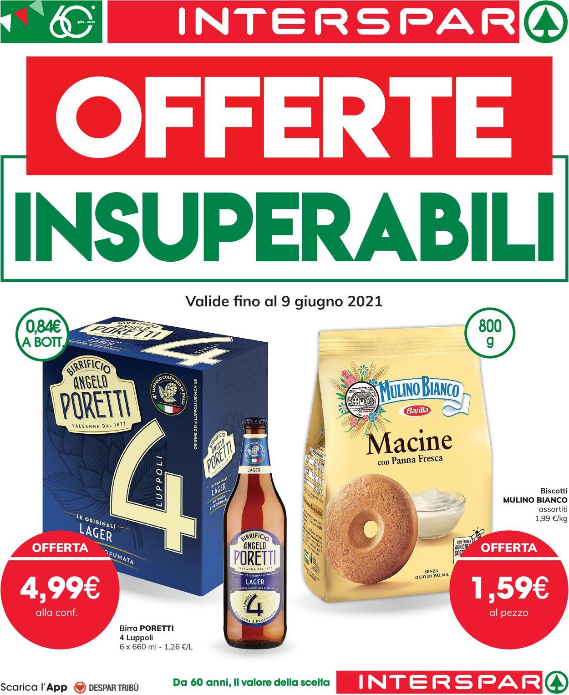 Volantino Interspar - Offerte 27/05-09/06/2021