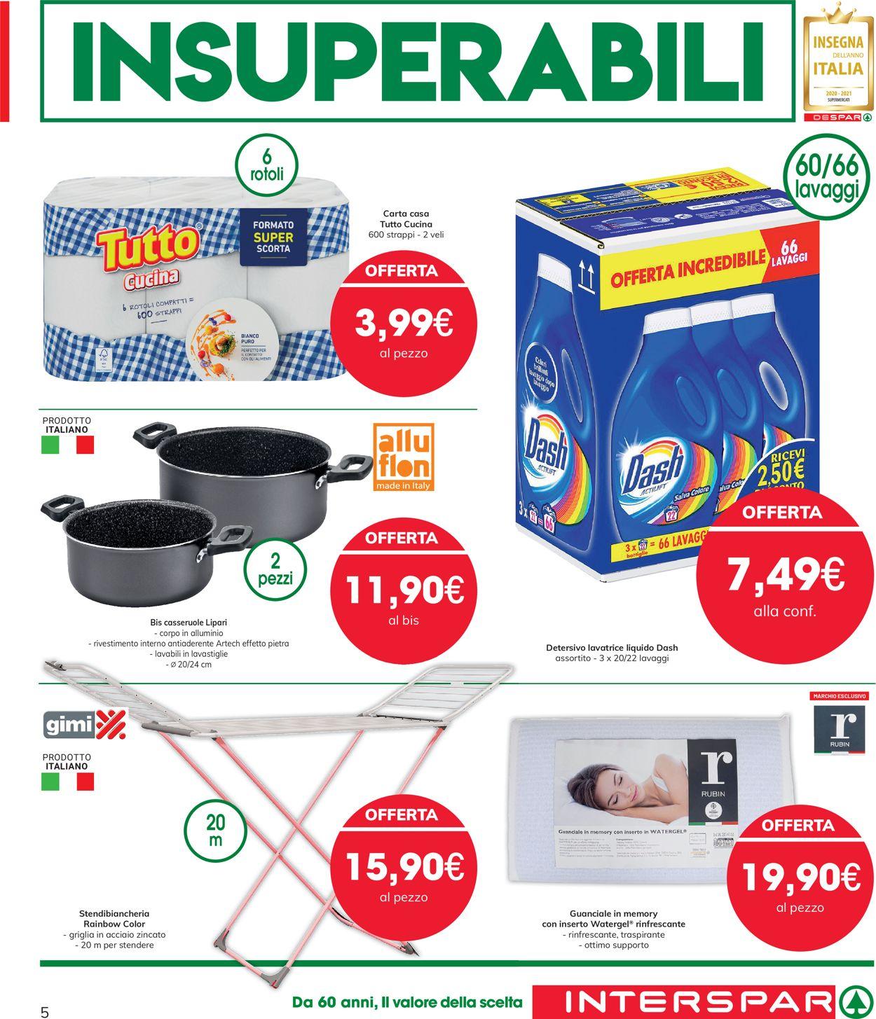 Volantino Interspar - Offerte 27/05-09/06/2021 (Pagina 5)