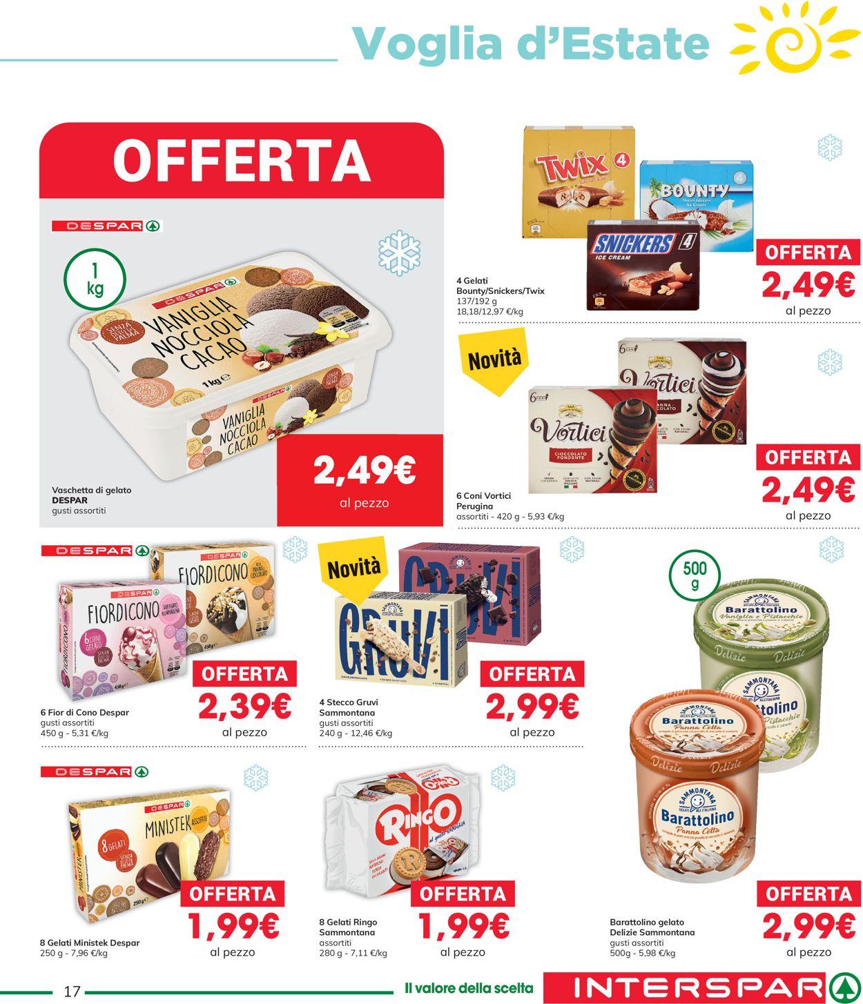Volantino Interspar - Offerte 27/05-09/06/2021 (Pagina 17)