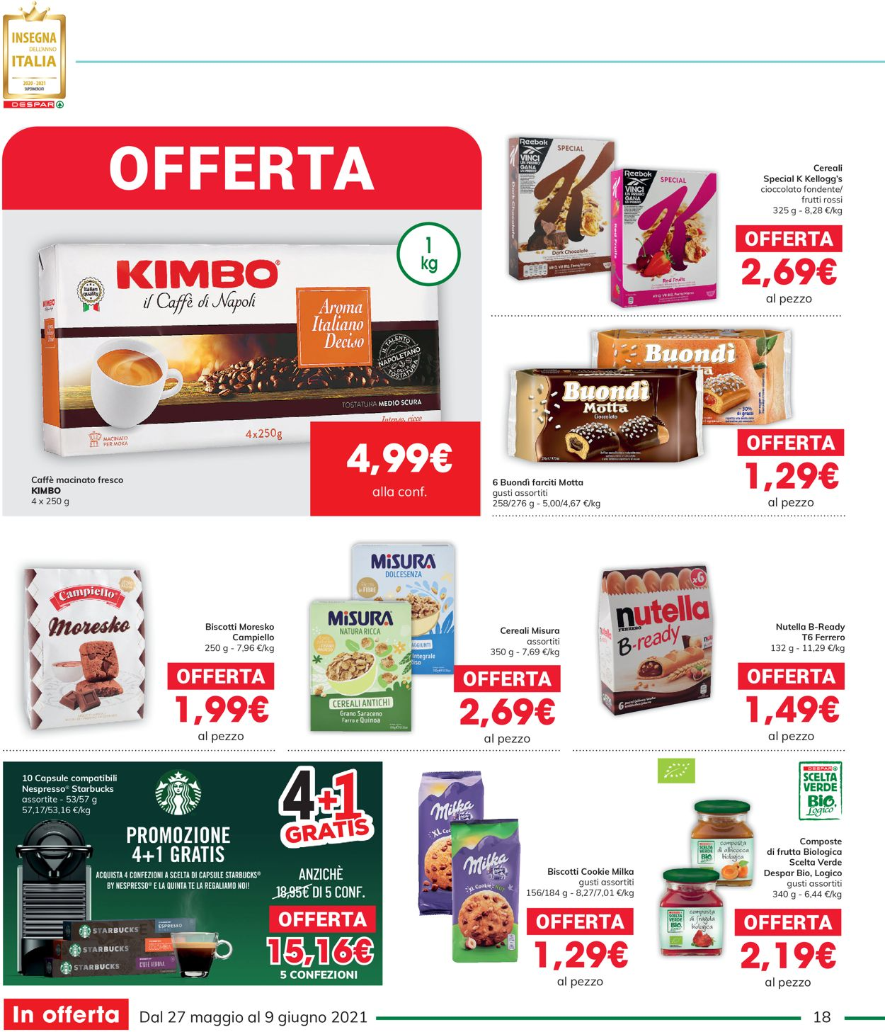 Volantino Interspar - Offerte 27/05-09/06/2021 (Pagina 18)