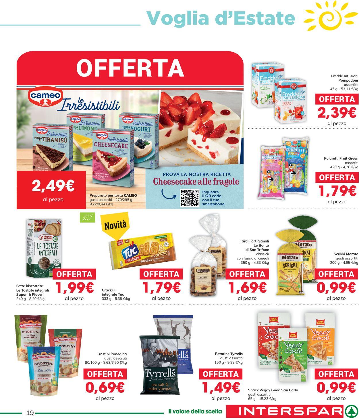 Volantino Interspar - Offerte 27/05-09/06/2021 (Pagina 19)