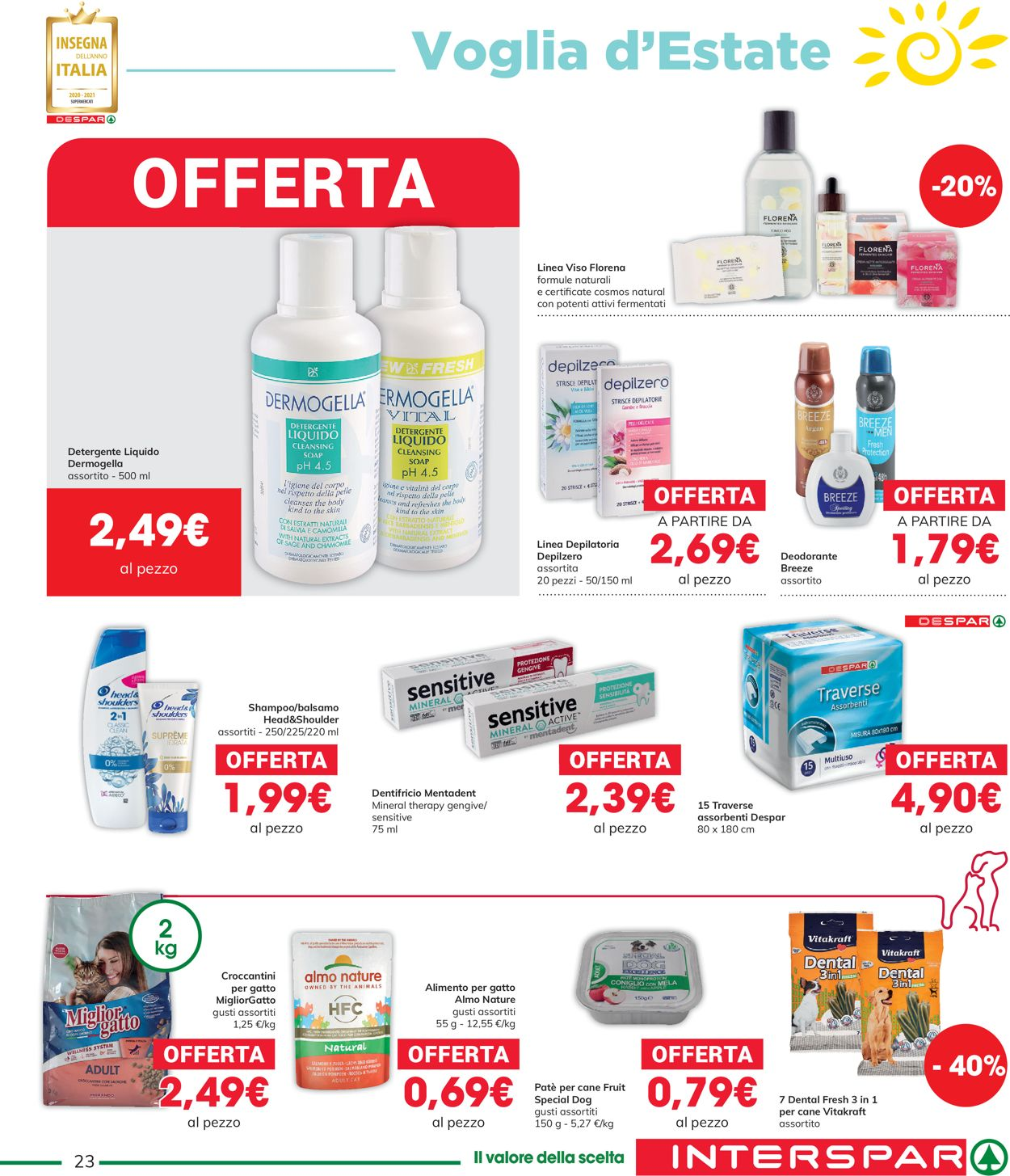 Volantino Interspar - Offerte 27/05-09/06/2021 (Pagina 23)