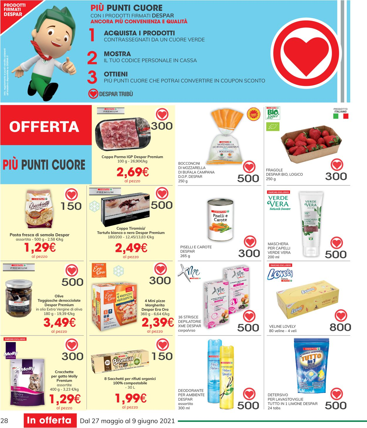 Volantino Interspar - Offerte 27/05-09/06/2021 (Pagina 28)