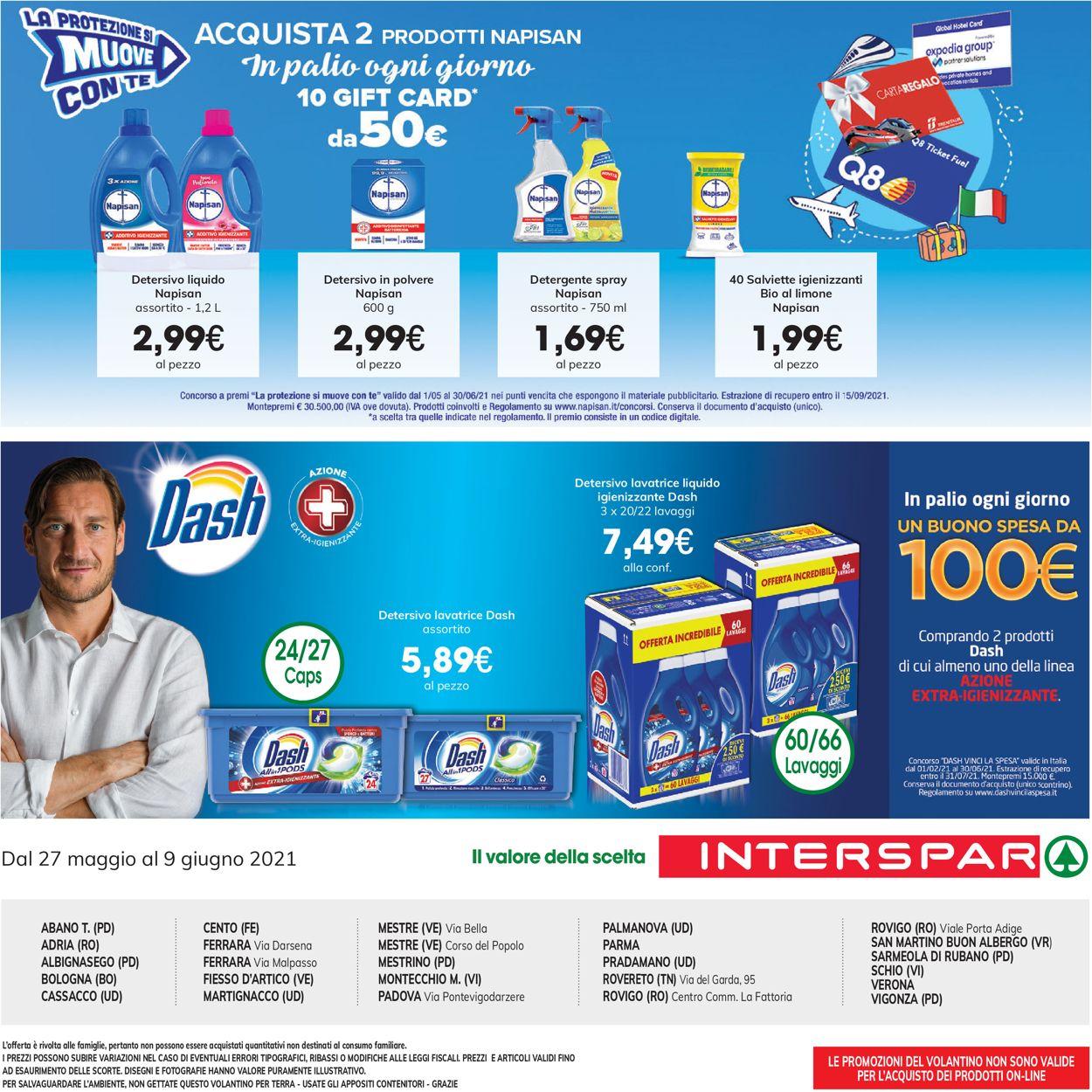 Volantino Interspar - Offerte 27/05-09/06/2021 (Pagina 12)